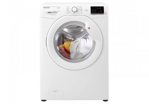Hoover HL1492D3 Link With One Touch 9kg 1400 Spin Freestanding Washing Machine - White