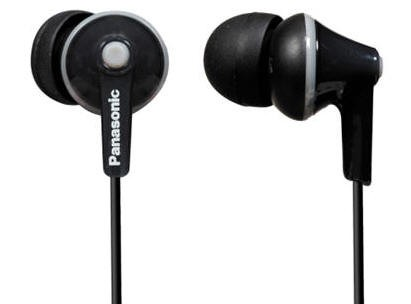 Panasonic RPHJE125EK inner ear phones
