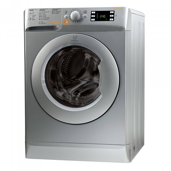 Indesit Silver 1400 rpm 8kg wash 6 kg dry Washer Dryer XWDE861480XS