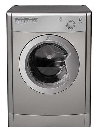 Indesit IDV75S Silver Tumble Dryer