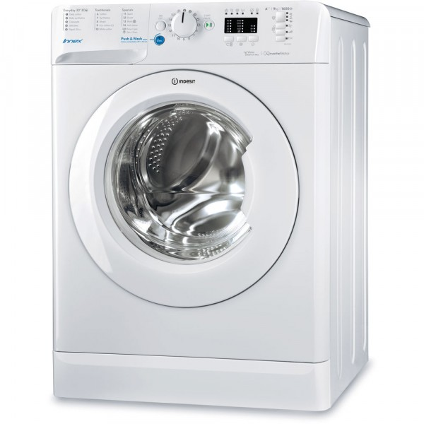 Indesit BWE9148XWUK 9Kg 1400 Spin White Washer