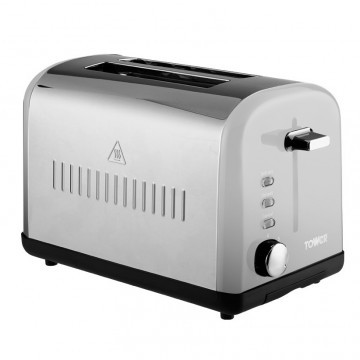 Tower T20014 steel toaster