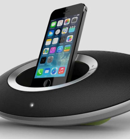 Otone Soundship-Mic-LI docking station with lightning connection for iPhone 5 onwards