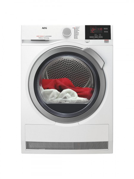 AEG dryer T6DBG822N 8kg condenser tumble dryer