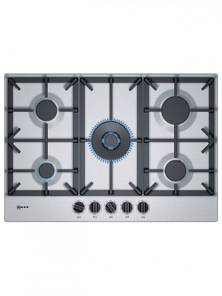 NEFF T27DS59NO Stainless Steel 75cm Gas Hob