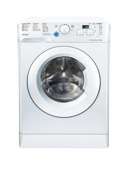 Indesit BWE71452WUKN 7kg Load, 1400 Spin Washing Machine - White, New E Energy Rating