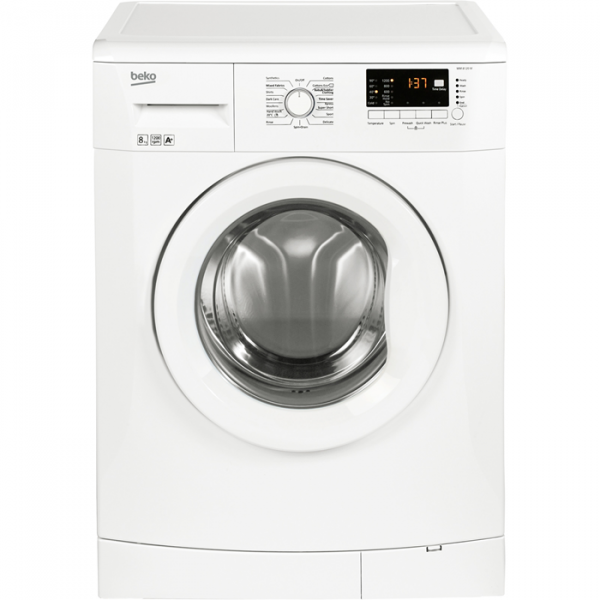Beko WM8120W 8kg washing machine with duvet washing programme