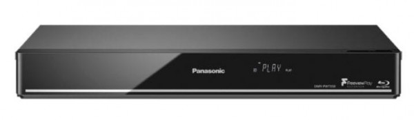 Panasonic DMRPWT550EBK 500gb FreeviewPlay Pvr +Bluray Player