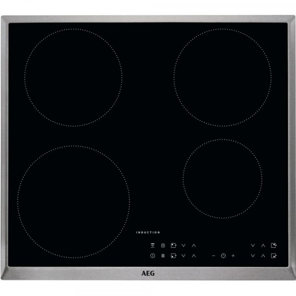 AEG IKB64301XB Electric Induction Hob - Black - 30 Amp