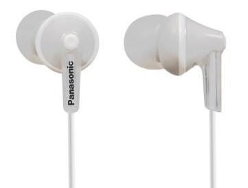 Panasonic RPHJE125EW inner ear phones