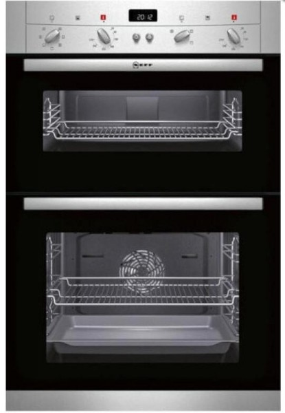 NEFF U12S53N3GB Double Built in Oven