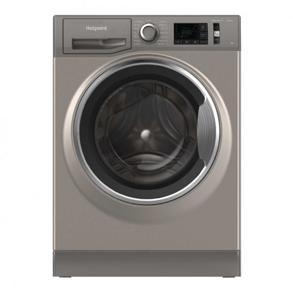 Hotpoint NM11945GCAUKN 9kg 1400rpm Freestanding Washing Machine - Graphite