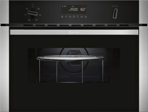 Neff C1AMG83N0B Built-In Microwave with Grill, Stainless Steel