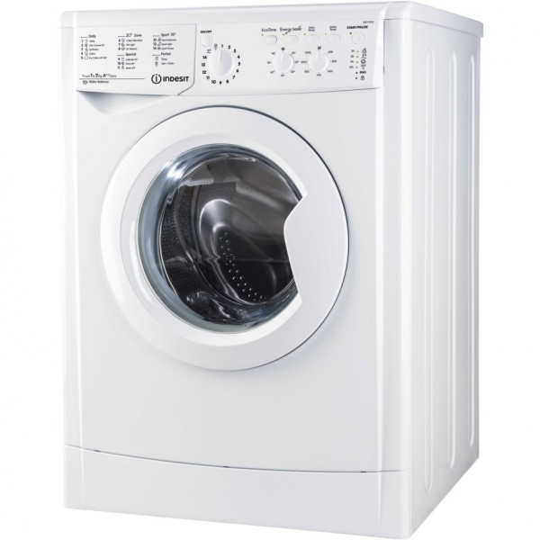 Indesit IWC71252WUKN EcoTime 7kg 1200rpm Freestanding Washing Machine