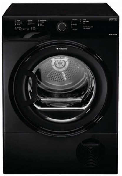 Hotpoint TCFS83BGK black Dryer