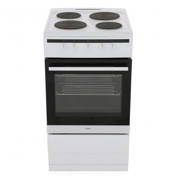 Amica 508EE1 Single Cavity White Cooker