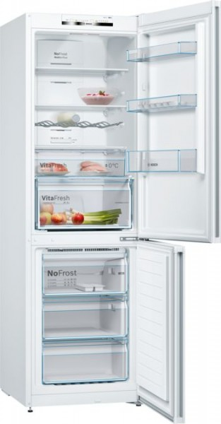 Bosch tall Frost Free Fridge Freezer KGN36VWEAG