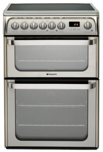 Hotpoint HUE61XS cooker
