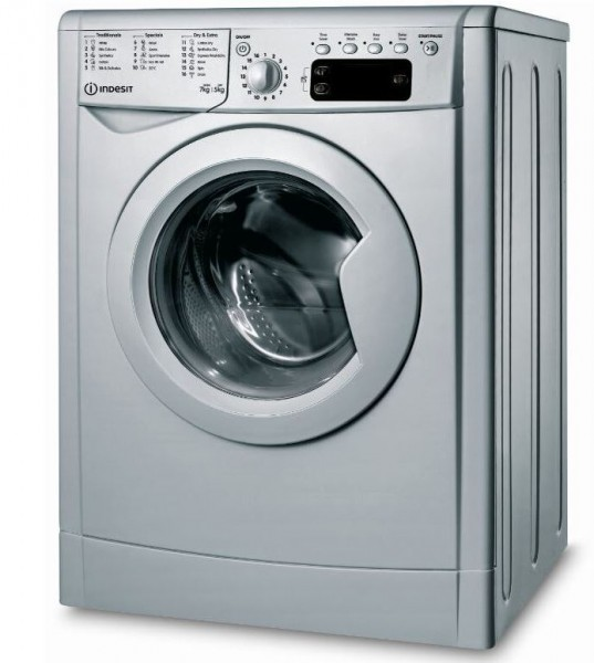 Indesit Silver Washer Dryer 1400 spin IWDD75145SUKN NEW F Energy