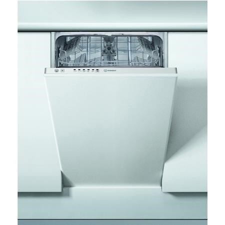 Indesit DSIE2B10 Built in 45cm slimline Dishwasher
