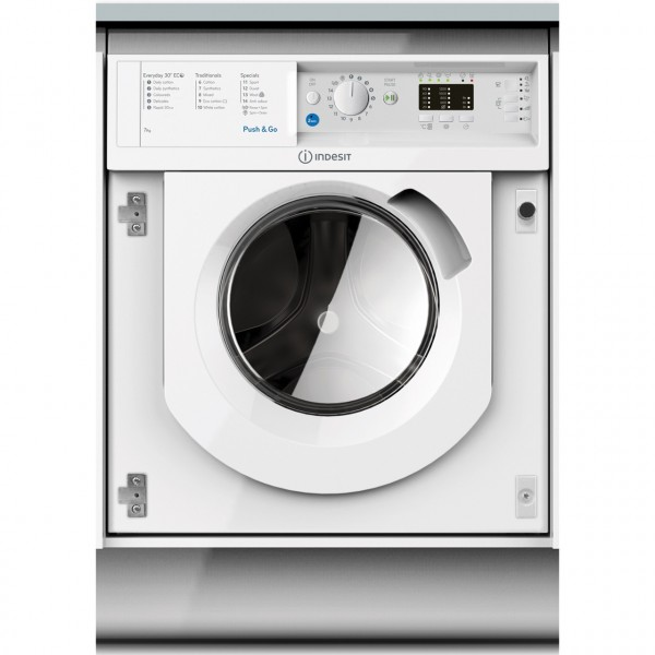 Indesit BIWMIL71252 7KG 1200 Spin Washing Machine NEW E Energy rated