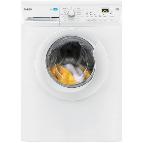Zanussi ZWF81443W 1400spin 8kg White Washing Machine