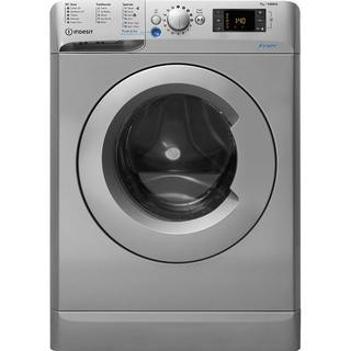 Indesit silver 1400rpm 7kg load washer BWE71452SUKN New E Energy rating