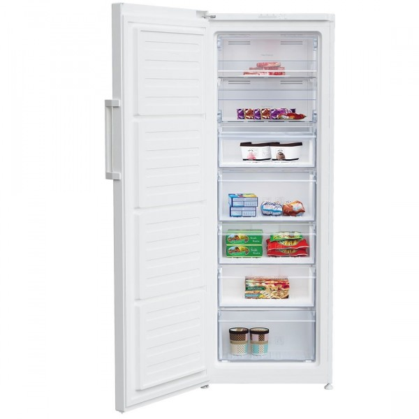 Beko FFP1671W Tall Freezer, A+ Energy Rating, 60cm Wide, White
