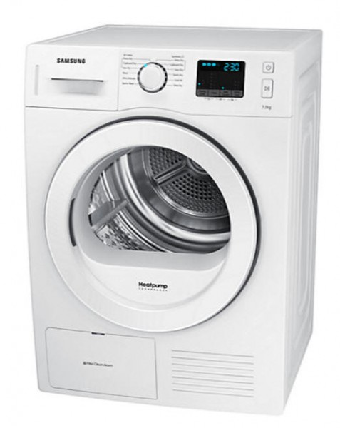 Samsung DV70F5EOHGW heat pump dryer