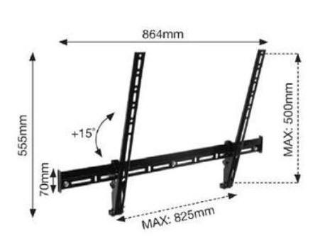 BTECH BTV521 wall mount
