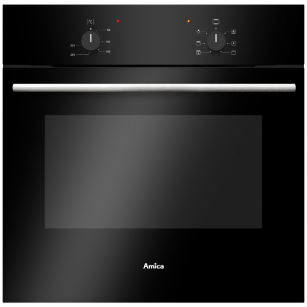 AMICA - ASC200BLSingle Oven Electric