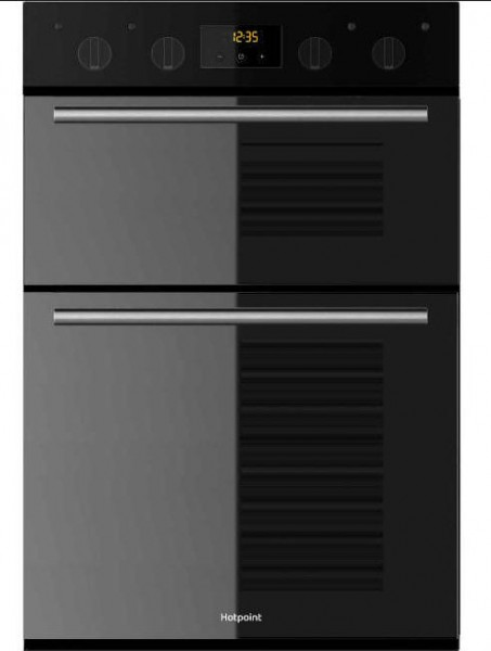 Hotpoint DD2540BL Built In Double Oven in Black