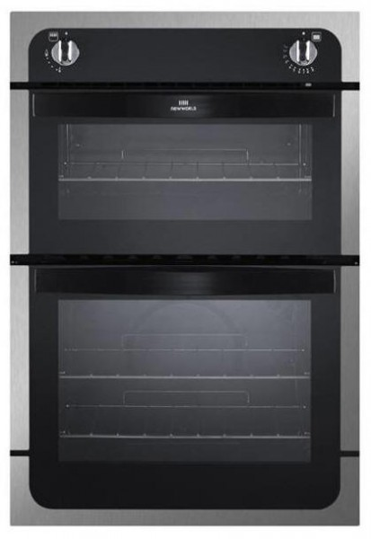 Newworld NW901GSS Built In Twin Cavity Gas Oven