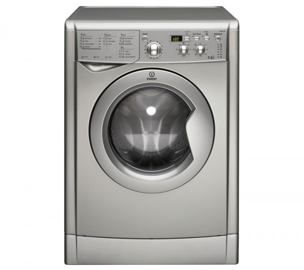 Indesit IWDD7143S silver Washer Dryer