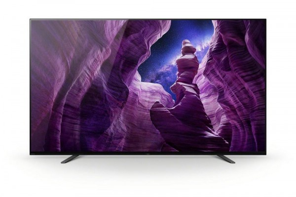 "Sony KD65A8BU 65"" OLED Smart TV New G Energy rated - Free 5 Year Warranty"