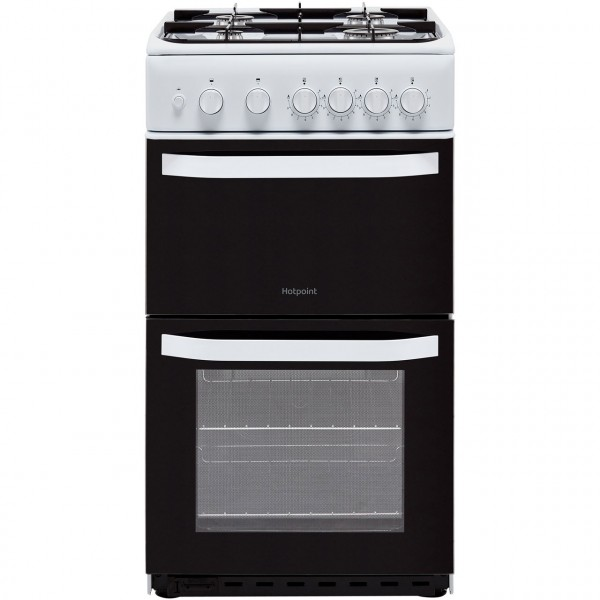 Hotpoint HD5G00KCW 50cm Gas Cooker White
