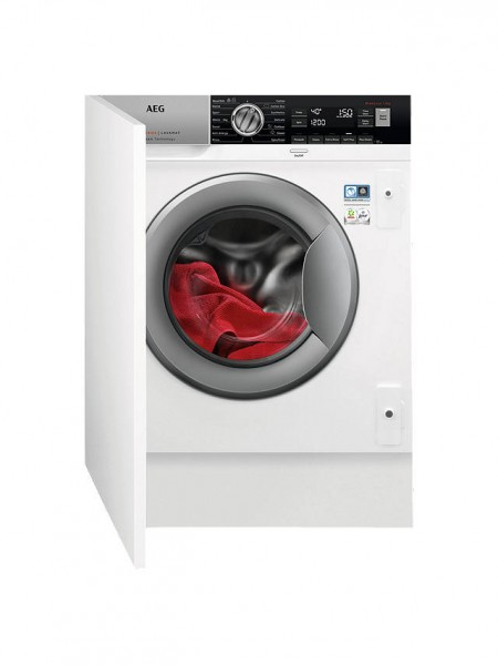 AEG L7FC8432BI Integrated Washer , 8kg Load, A+++ Energy Rating, White