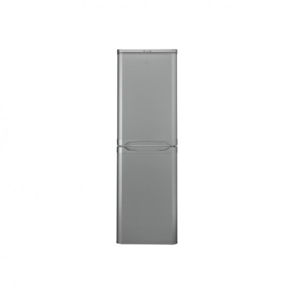 INDESIT IBD5517S 234 Litre Freestanding Fridge Freezer 50/50 Split A+ Energy Rating 54.5cm Wide - Si