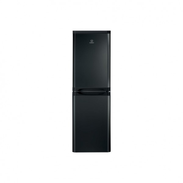 INDESIT IBD5517B 234 Litre Freestanding Black Low Frost Fridge Freezer 50/50 Split A+ Energy Rating