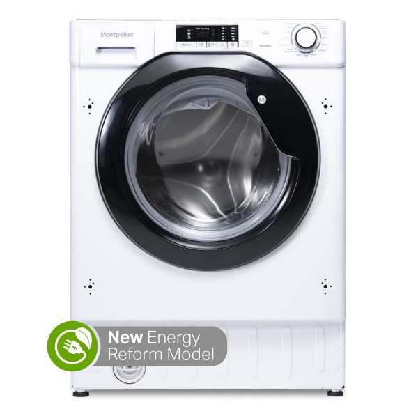 Montpellier MIWM84 8kg Integrated Washing Machine 1400RPM NEW D Energy rated