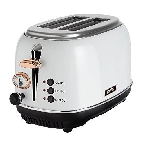 Tower T20016WHITE toaster