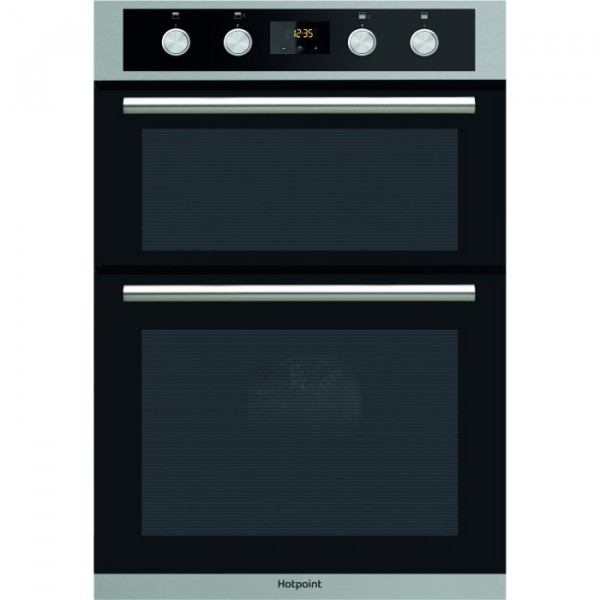 Hotpoint DD2844CIX Stainless Steel Built In Double Oven