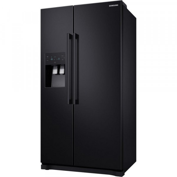 Samsung RS50N3513BC American Style Fridge Freezer - Black A+