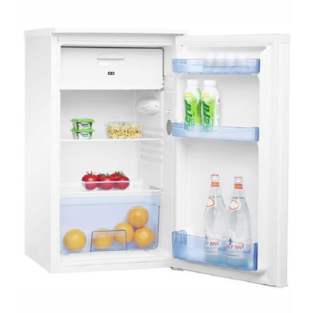 Amica FM1044 48cm Wide White Fridge With 4 Star Icebox