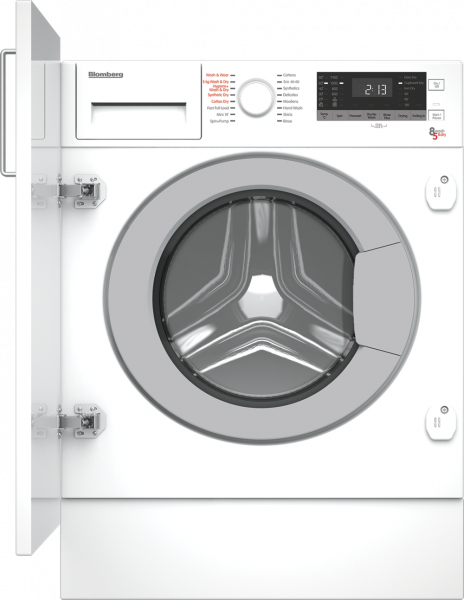 Blomberg LRI2854310 8kg/5kg 1400 Spin Built In Washer Dryer - White
