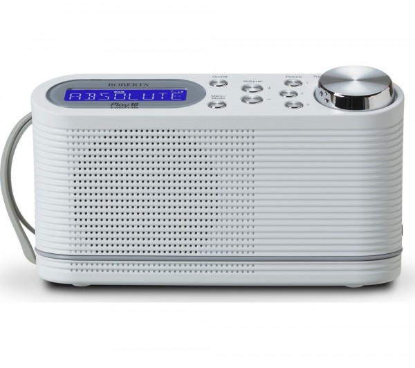 ROBERTS PLAY 10 Dab Radio White