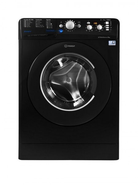 Indesit BWE71452KUKN Black Washing Machine New E Energy rating