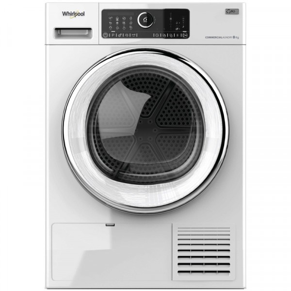 Whirlpool AWZ8HP/PRO 8KG Commercial Tumble Dryer - Heat Pump