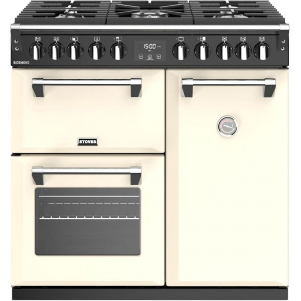 Stoves Richmond 90 Df Cream Range Cooker