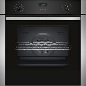 Neff B3ACE4HNOB Slide and Hide Single Oven